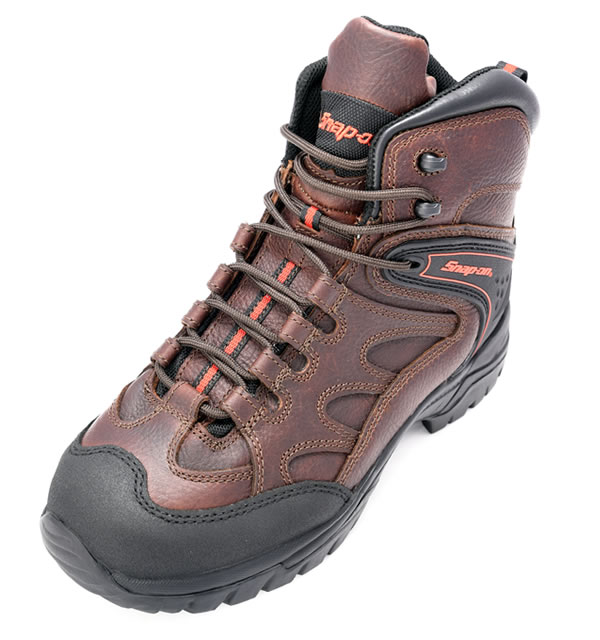 OFFROAD Steel Boots Brown Size UK 7 EUR 41